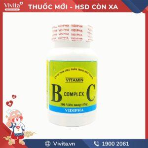 Thuốc bổ sung vitamin B Complex C