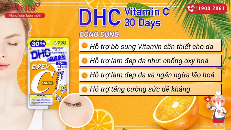 dhc vitamin c 30 days co tot khong