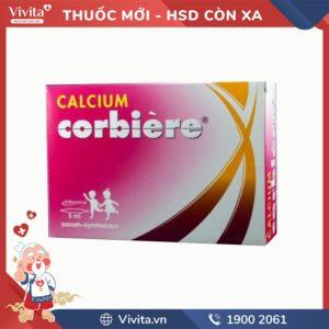 Thuốc bổ sung canxi cho bé Calcium Corbiere 5ml
