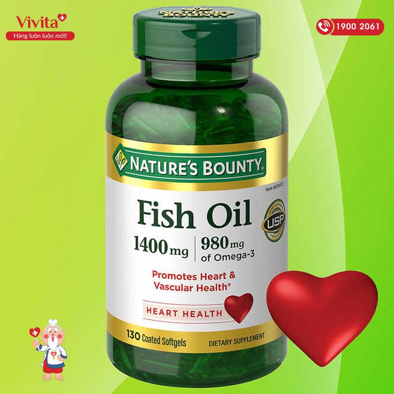 dau ca natures bounty fish oil omega 3
