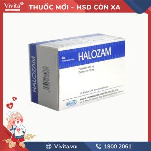 Thuốc hỗ trợ chức năng não Halozam