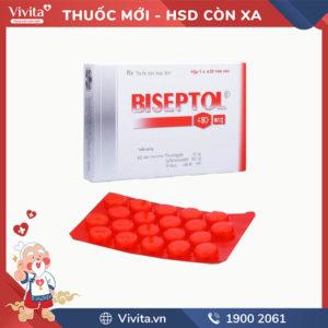 Thuốc kháng sinh trị nhiễm khuẩn Biseptol