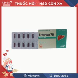 Thuốc trị bệnh gan Liverton 70