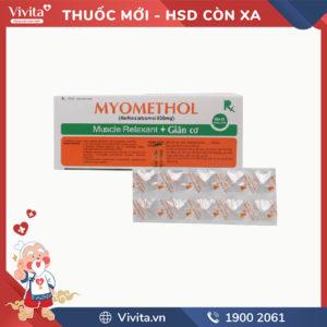 Thuốc giãn cơ Myomethol