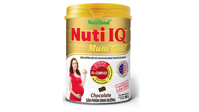 Sữa Nutifood Nuti IQ Mum Gold