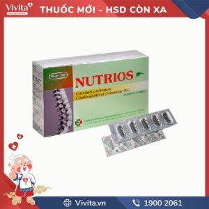 Thuốc trị loãng xương Nutrios