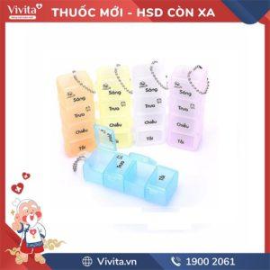 Phân Liều Thuốc 4 ngăn - nhỏ HPG41