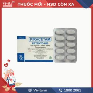Thuốc trị rối loạn tiền đình Retento-800