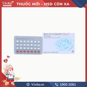 Thuốc tránh thai Rigevidon 21+7