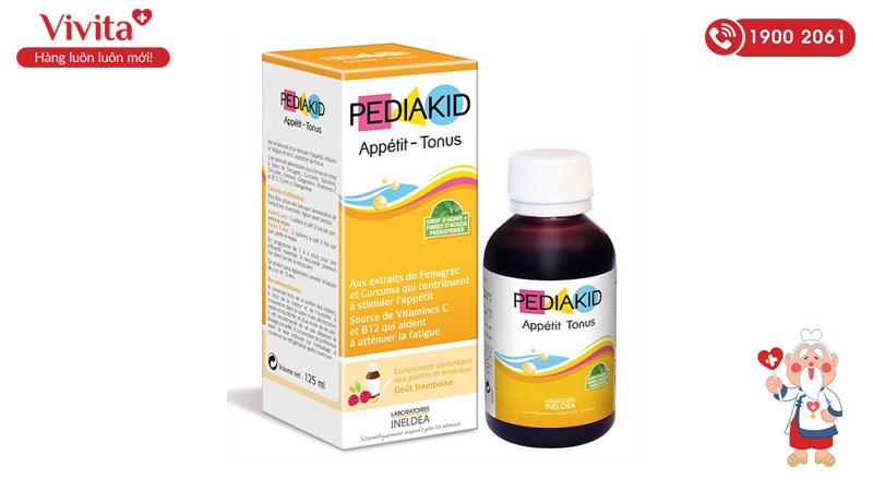 siro cho trẻ biếng ăn Pediakid