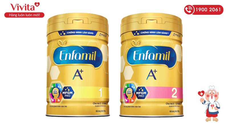 sữa bột enfamil a+