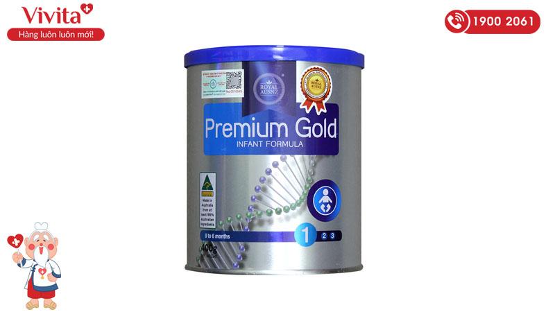 Sữa cho trẻ sơ sinh Royal Ausnz Premium Gold 1