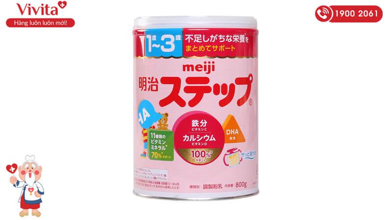 Sữa Meiji Nhật Bản số 9