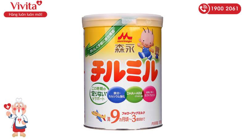 Sữa Morinaga số 9 Nhật Bản