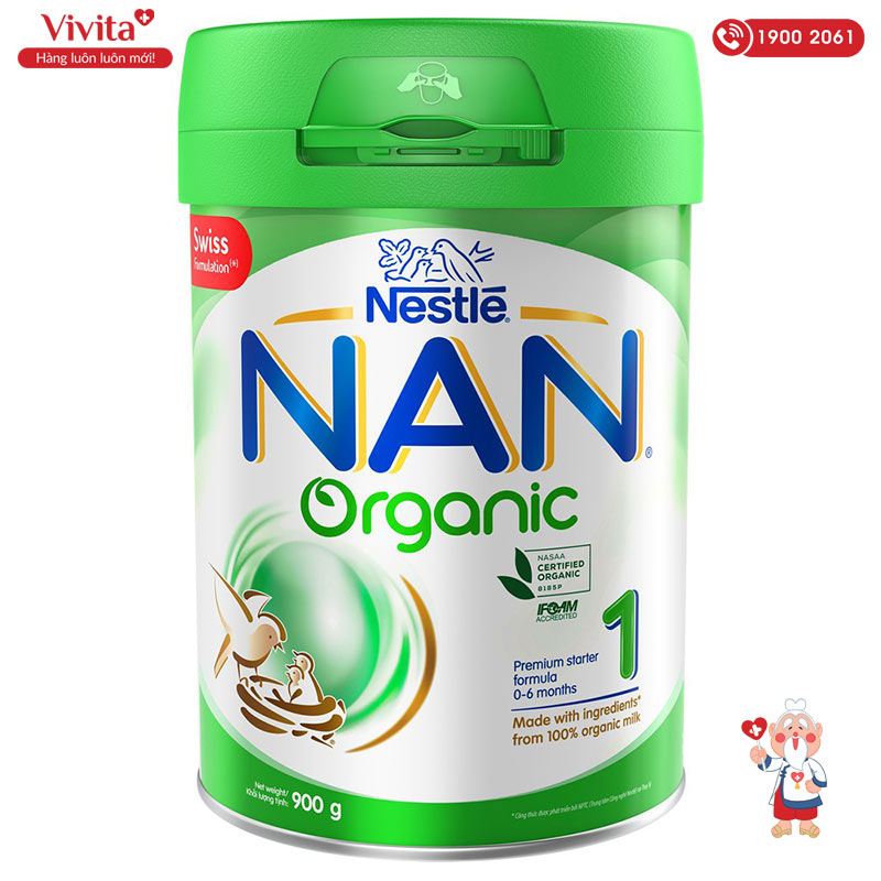 sua tang can cho tre nan organic