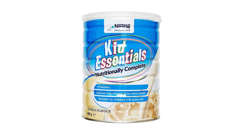 Dòng sữa Kid Essentials của Nestle là sữa dành cho trẻ chậm tăng cân, biếng ăn
