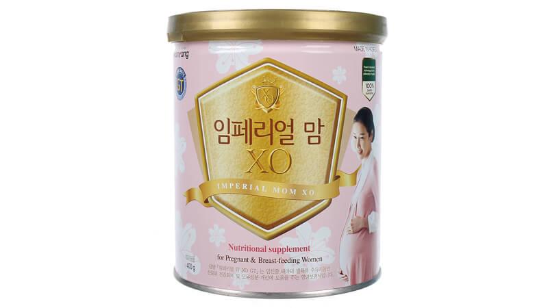 Sữa XO Hàn Quốc cho bà bầu