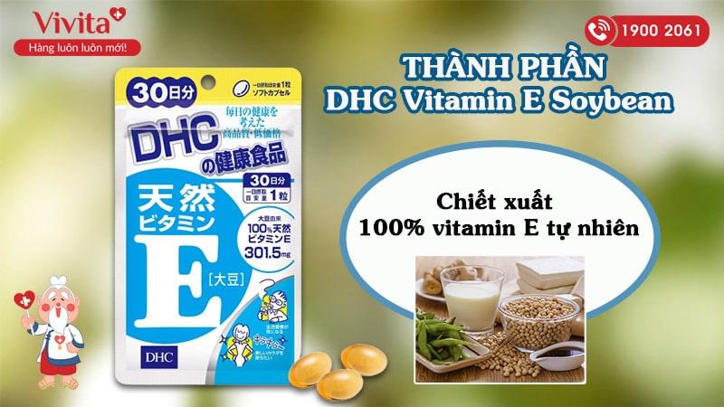 DHC Vitamin E Soybean 30 Days