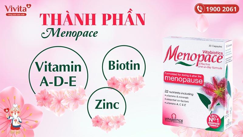 vitabiotics menopace original có tốt không