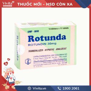 Thuốc an thần, trị mất ngủ Rotunda 30mg