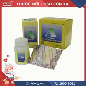Thuốc bổ sung Vitamin A 5000IUNadyphar