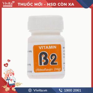 Thuốc bổ sung Vitamin B2