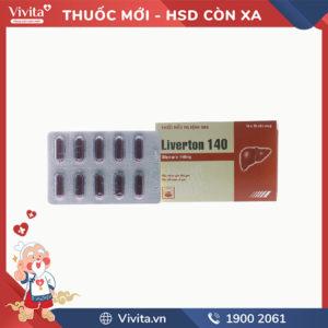 Thuốc trị bệnh gan Liverton 140