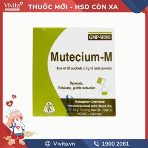 Thuốc chống nôn và buồn nôn Mutecium - M