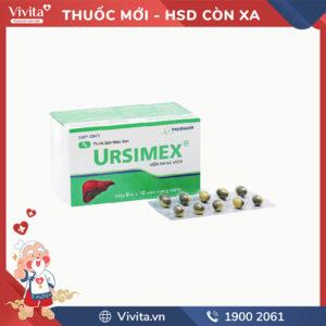 Thuốc trị bệnh gan, mật Ursimex