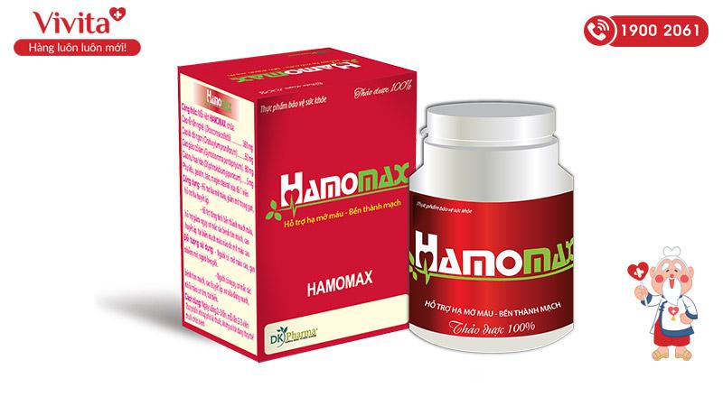 viên giảm mỡ máu hamomax