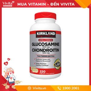 Viên uống bổ khớp Kirkland Glucosamine Chondroitin