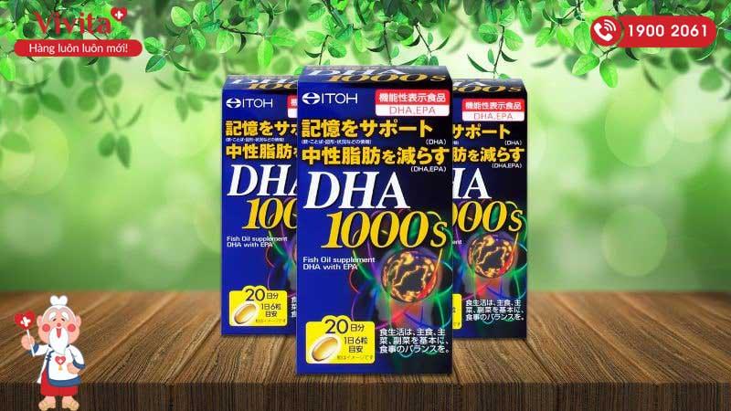 dầu cá bổ mắt của Nhật