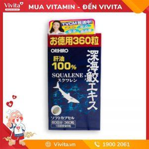 Viên uống dầu gan cá mập Orihiro