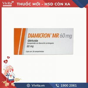 Thuốc trị tiểu đường Diamicron MR 60mg