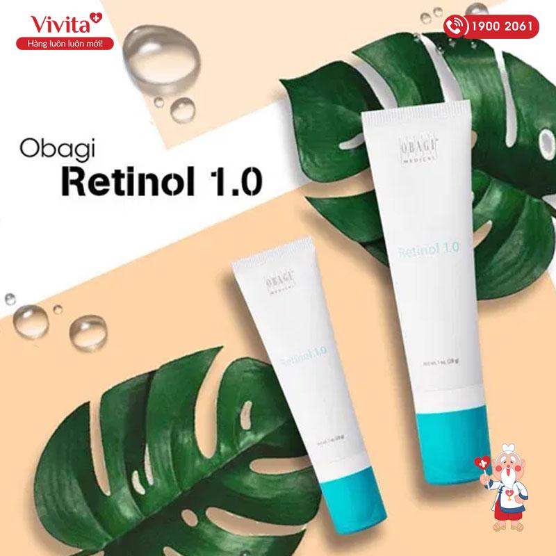 luu y khi su dung san pham obagi retinol 1.0