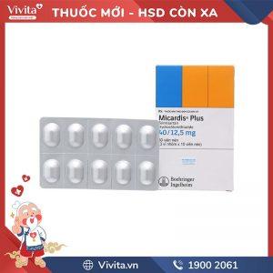Micardis Plus 40/12.5 mg