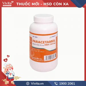 Paracetamol Imex 325mg