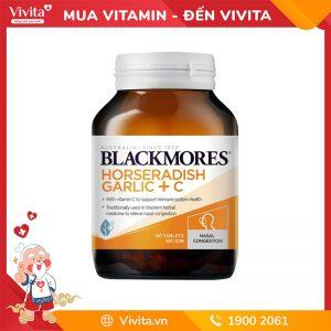 blackmores horseradish garlic + c