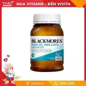 blackmores fish oil mini capsules odourless