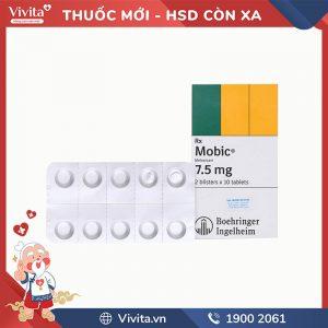 Thuốc giảm đau, kháng viêm Mobic 7.5mg