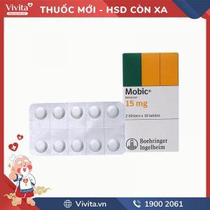 Thuốc giảm đau kháng viêm Mobic 15mg