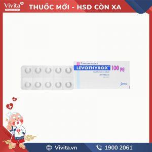 Thuốc trị bệnh lý tuyến giáp Levothyrox 100mcg