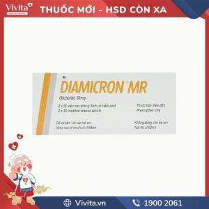 Thuốc trị tiểu đường Diamicron MR 30mg