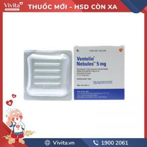 Thuốc ventolin nebules 5mg