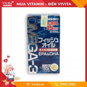 vien uong bo sung Omega-3-EPA-DHA-Orihiro