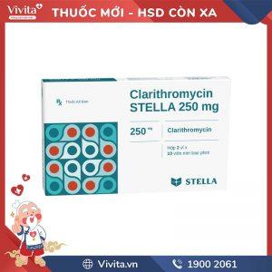 Clarithromycin stella 250mg