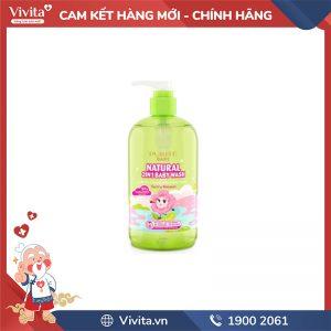 Sữa tắm Gội Purité BaBy Hoa Anh Đào 500ML