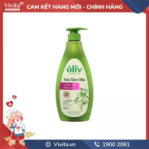 Sữa tắm Oliv 650M Sáng Da