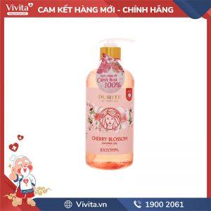 Sữa tắm dưỡng ẩm Purité Cherry Blossoom 850ML