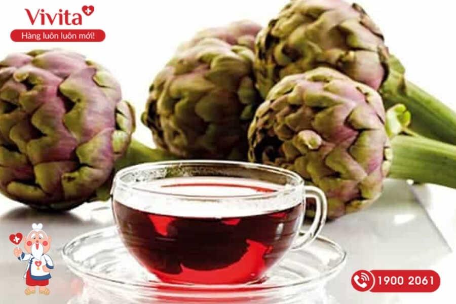 Atiso từ lâu đã được biết đến là một thực phẩm mát gan giải độc trị mụn tuyệt vời.